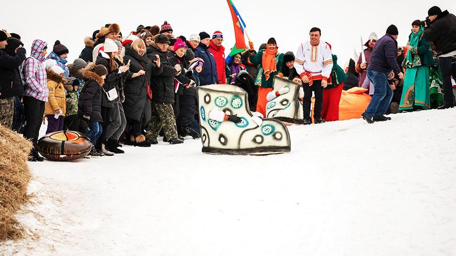 Фестиваль «Лысогорские санки»